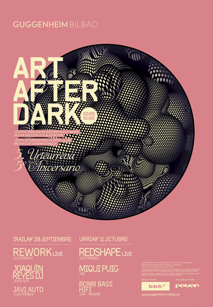 Art After Dark Museo Guggenheim Bilbao